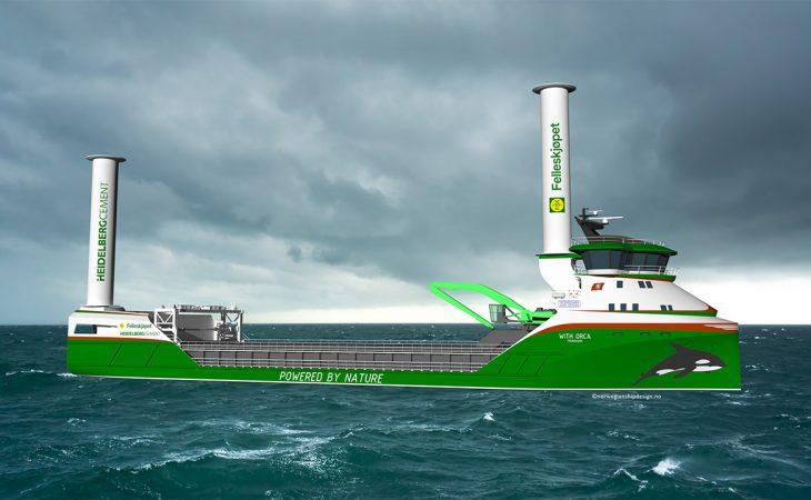 Bulkskip, illustrasjon