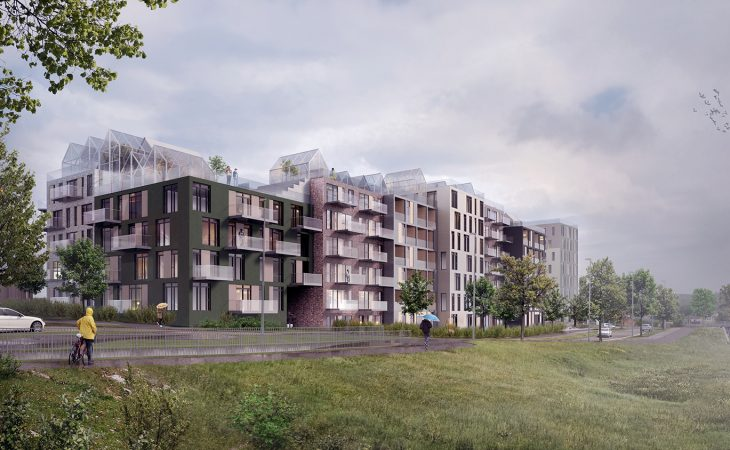 Bilde av byggeprosjektet Gartneritaket