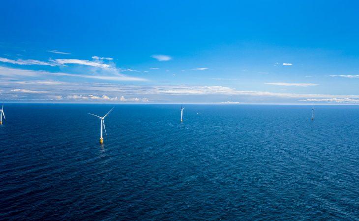 Bilde av havvindparken Hywind Scotland