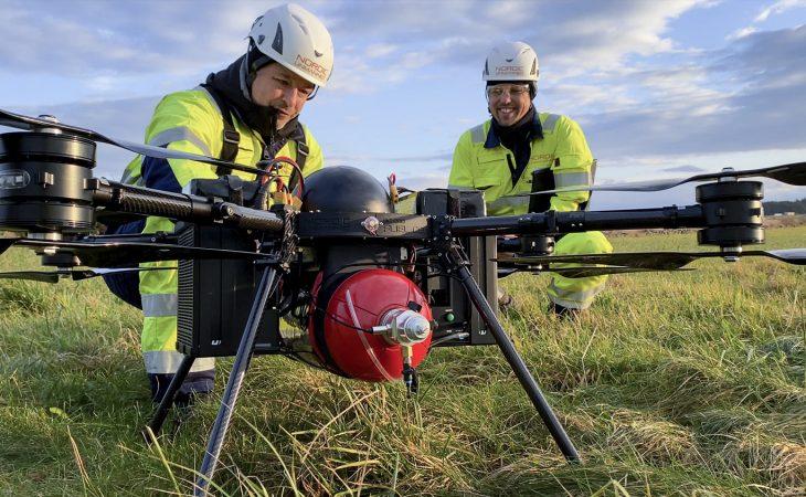 Nordic Unmanned tester hydrogendrevne droner.