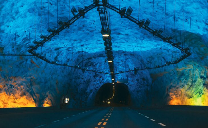 Bilde av tunnel