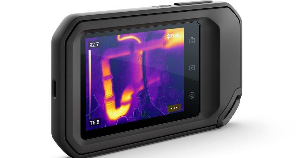 Kamera for termografi