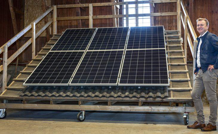 Bilde av salgsdirektør Terje Engdal i Solar Norge