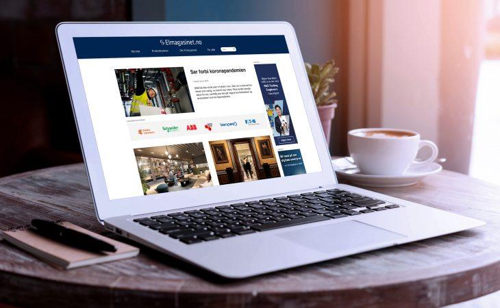 Nye hjemmesider