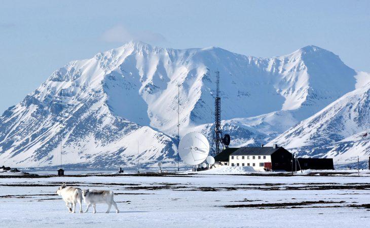 Isfjord Radio skal drives med fornybar energi Foto: Basecamp Explorer Spitsbergen