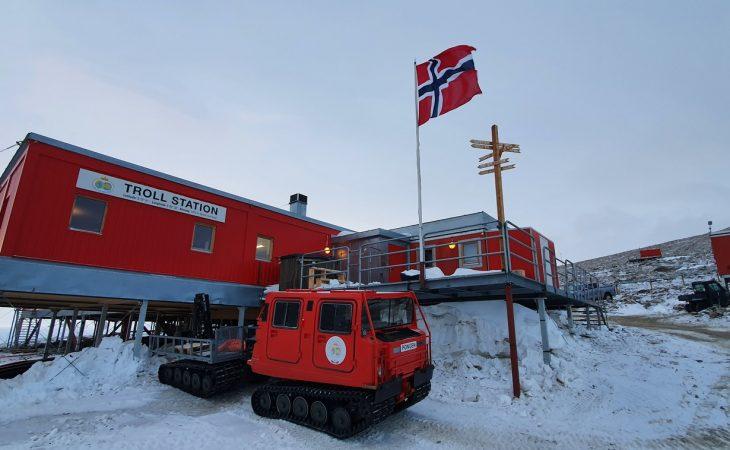 Bilde fra Troll i Antarktis